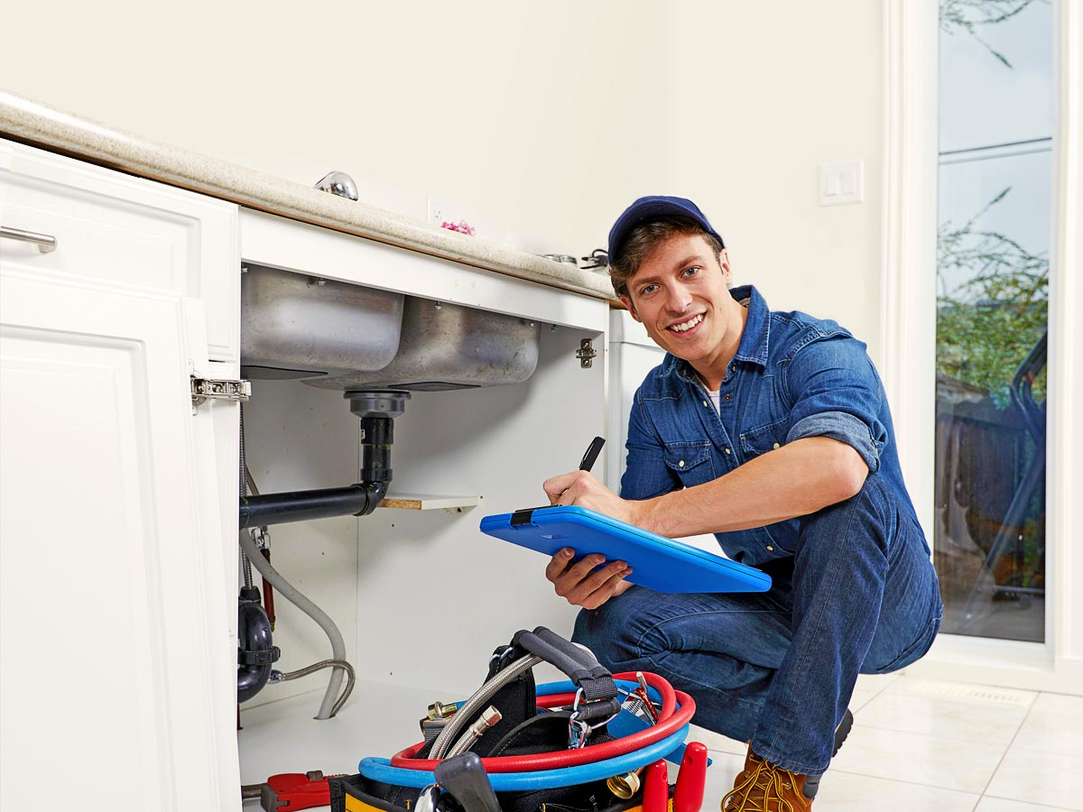Plumbing insurance with Huckleberry Insurance