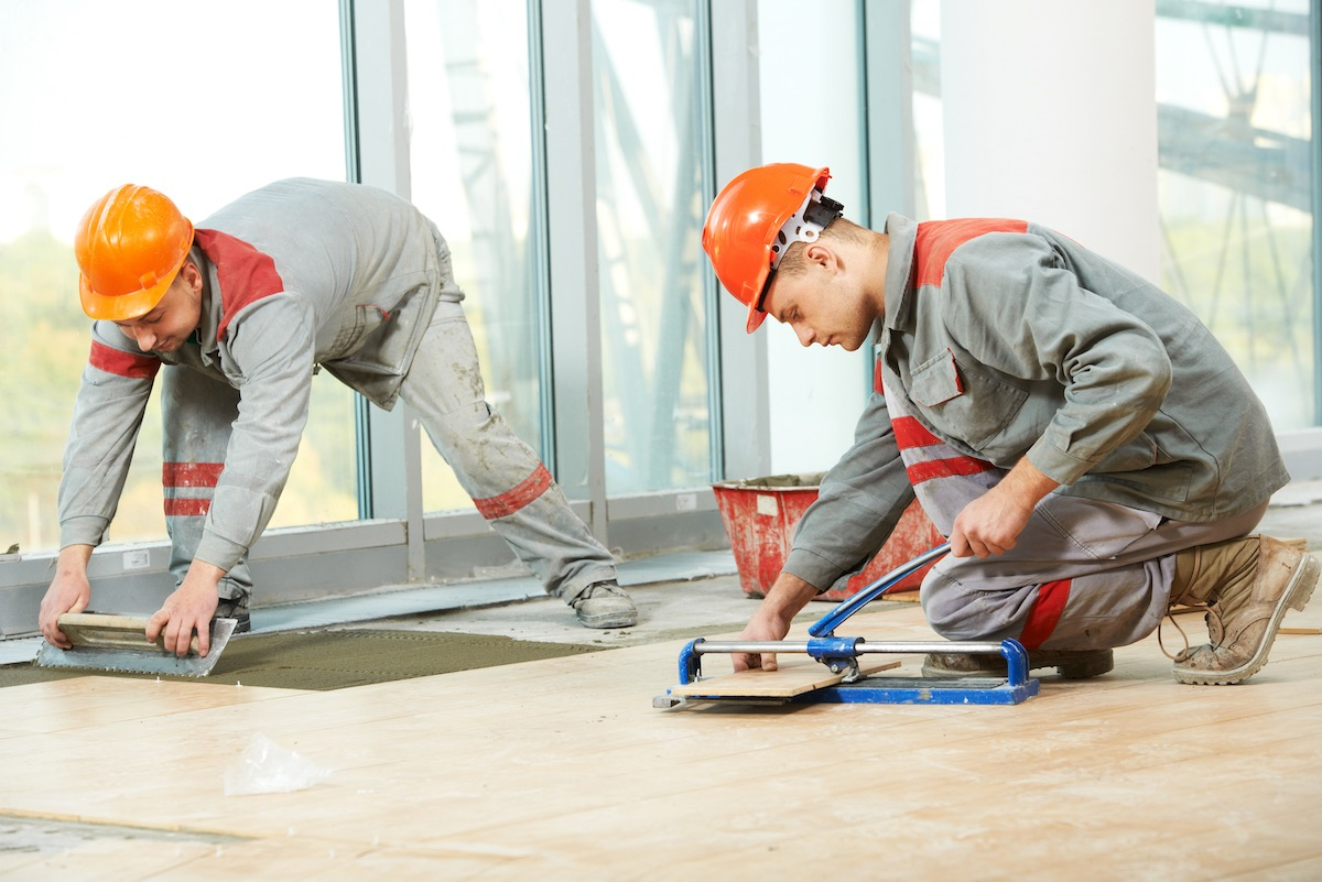 Flooring business insurance with Huckleberry
